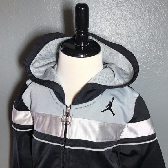3f804cf317e Jordan Jackets & Coats   Air Boys Size 4t Jacket With Hoodie   Poshmark